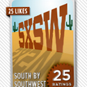 """Social Media collectible """"check-in"""" badges"""