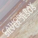 """Blonde Summer """"Cathode Ray/Silver Jesus"""" 7″ album artwork"""