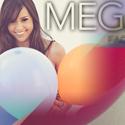 Megan Nicole YouTube channel design