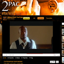 2Pac and Rebecca Black partnered YouTube channel designs